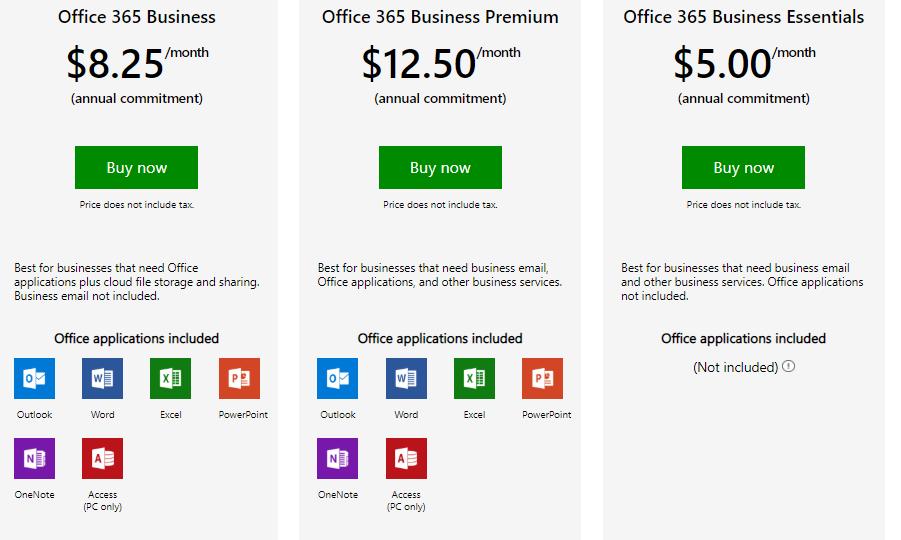 ข้อแตกต่างระหว่าง G Suite และ Office 365 | | DEMETER ICT