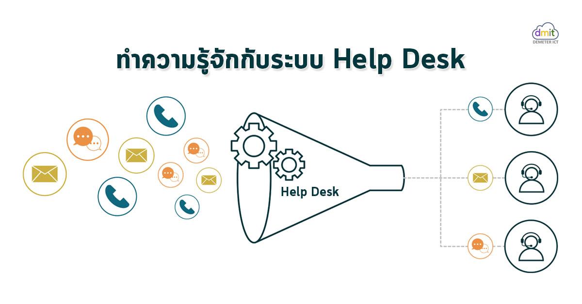 ระบบ Help Desk คืออะไร? มาทำความรู้จักกัน