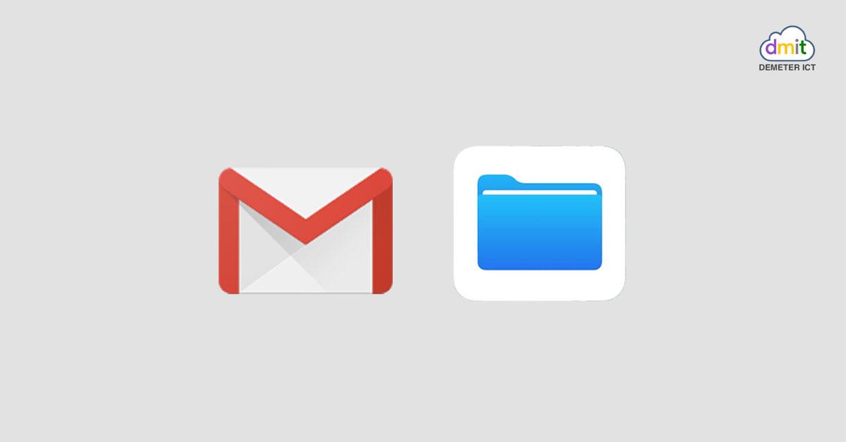 Gmail บน iOS ให้คุณสามารถแนบไฟล์จากแอป Files ได้แล้ว