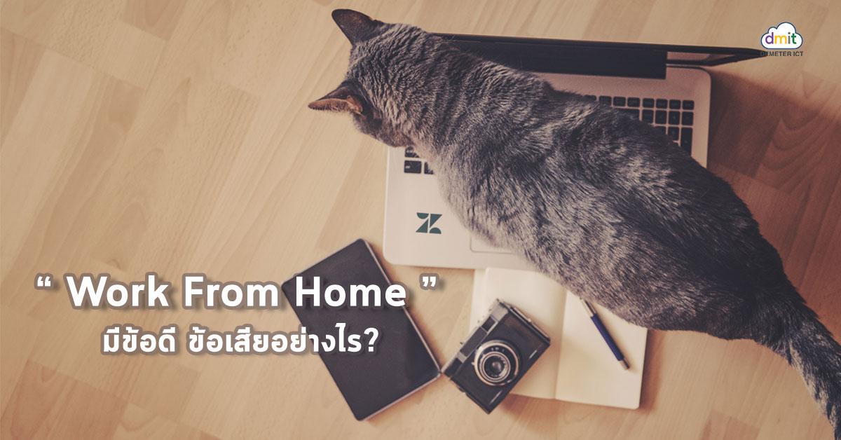 Work From Home มีข้อดี ข้อเสียอย่างไร?