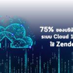 75% ของบริษัทชั้นนำด้านระบบ Cloud 100 แห่ง ใช้ Zendesk