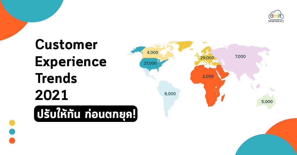 Customer Experience Trends 2021 ปรับให้ทัน ก่อนตกยุค