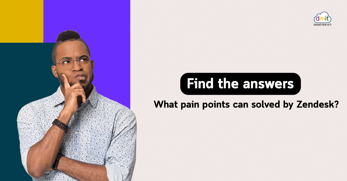 Find Answers What Pain Points Can solves by Zendesk