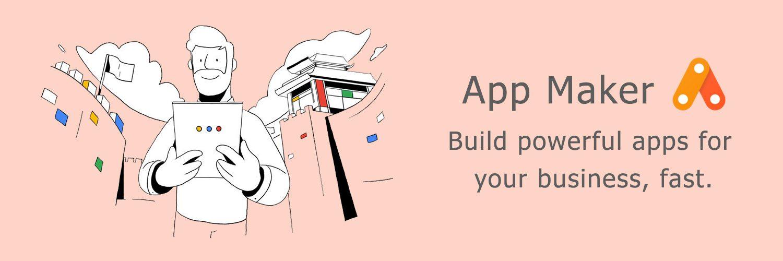 page google app maker