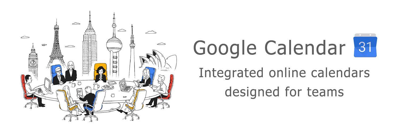 page google calendar