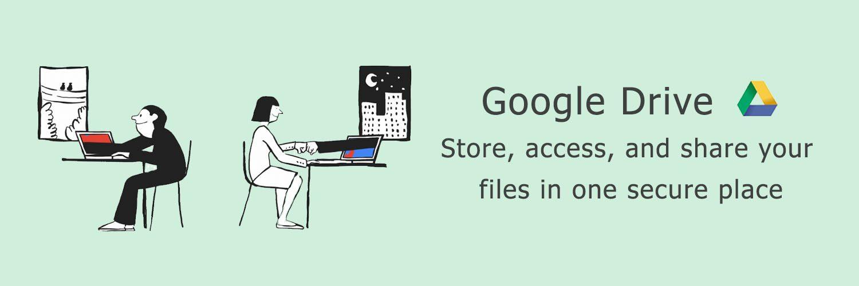 page google drive