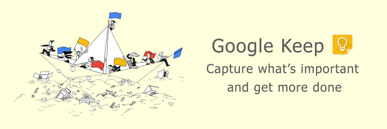 page google keep